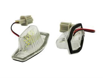 032S28 lights LED license plate illumination HONDA CIVIC LEGEND