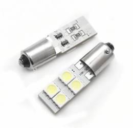 Car LED bulb BA9S 4 SMD 5050 CAN BUS