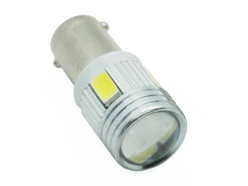 Car BA9S LED Bulb 6 SMD 5630 lens