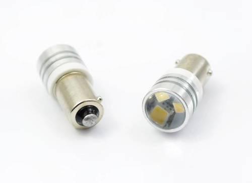 Car LED bulb BA9S 2323 SMD 3 HIGH POWER LENS