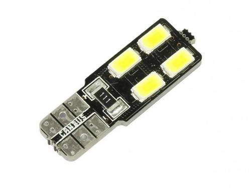 Car LED bulb W5W T10 4 SMD 5630 CAN BUS sided