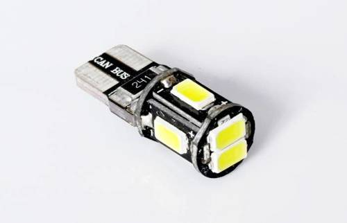 Car LED bulb W5W T10 6 SMD 5630 CAN BUS