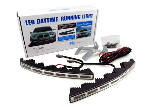 DRL 15 PREMIUM | Światła LED do jazdy dziennej | dedykowane do VW, SKODA
