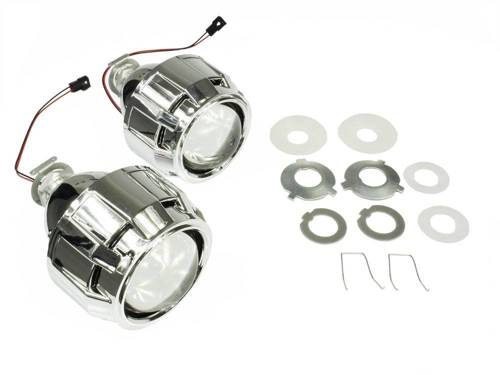 Kit lenses with adapters and grille Gatling Gun