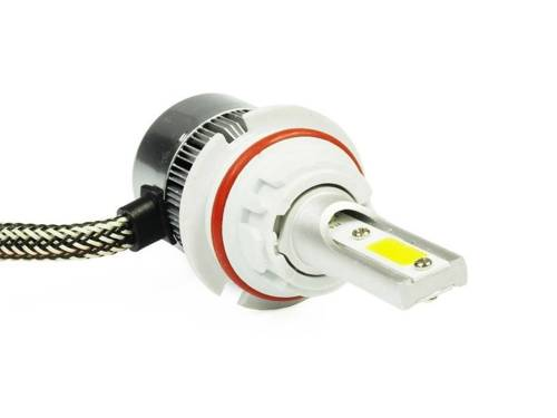 LED lamp HB5 H / L 9007 ™ C6 COB BRIDGELUX TrueWhite Technology 4000 lm - 1 piece - motorcycle version
