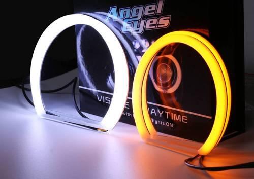 Set of rings COTTON COB LED DUAL COLOR | A + B - 131 mm + 146 mm