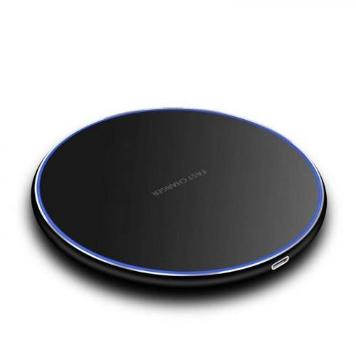 WDX-1-Black | 15W FAST CHARGER QI INDUCTION CHARGER
