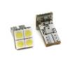 Car LED bulb W5W T10 4 SMD 5050 CAN BUS FRONT