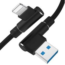 AM30 | Apple-Blitz-1M | Abgewinkelte USB-Kabel Ihr Telefon aufzuladen | iPhone 5 6 7 8 X 11 2.4A