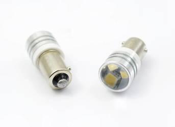 Auto-LED-Lampe BA9S 2323 SMD 3 HIGH POWER LENS