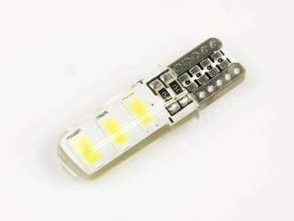 Auto-LED-Lampe W5W T10 6 SMD 5630 CAN-BUS-Silikon
