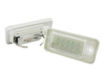 LHLP015S28 LED Kennzeichenbeleuchtung Audi A3 S3 A4 S4 A6 S6 A8 S8 RS4 RS6 Q7