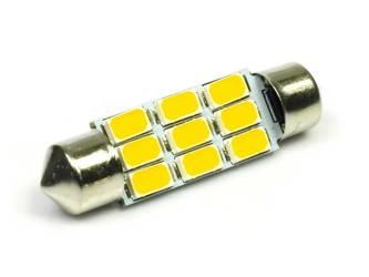 WW LED-Birnen C5W Auto 9 SMD 5630 White Heat