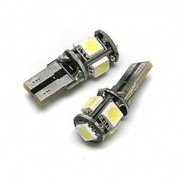 Auto LED-Birne T10 W5W 5 SMD 5050 CAN BUS