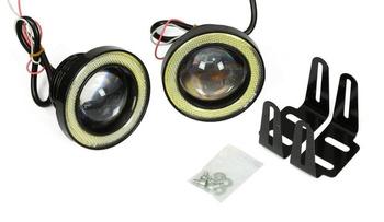 DRL 05 PREMIUM / Rundes ø70mm LED-Tagfahrlicht mit HIGH POWER Dioden