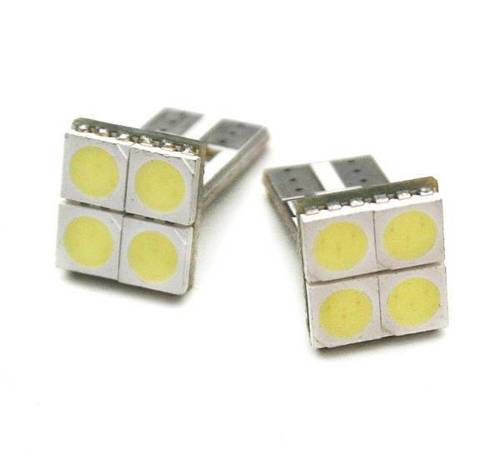 Auto-LED-Lampe W5W T10 4 SMD 5050 CAN-BUS-FRONT