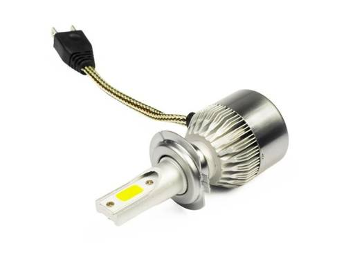 C6 H7 LED-Lampe Bridgelux COB ™ 3800 lm - 1 Stück - Versions-Motorrad