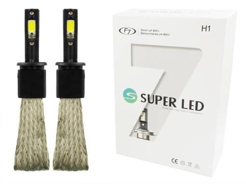 Eine Reihe von LED-Lampen H1 60W COB F7 16000lm