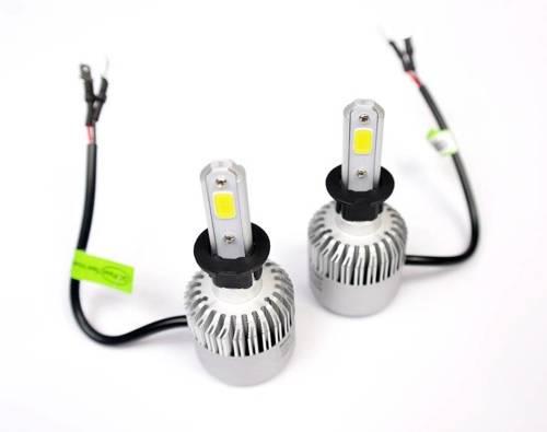 Eine Reihe von LED-Lampen H3 C6 Bridgelux COB ™ 8000 lm