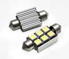 C5W LED-Birnen-Auto 6 SMD 5050 CAN BUS