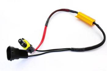 D-50W-8-H11 | |Filtr LED CAN BUS 50W 8Ω - oprawka H8 H9 H11