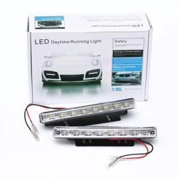 DRL 02   Światła LED do jazdy dziennej   diody SMD 3528