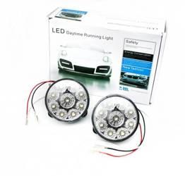 DRL 04 | Światła LED do jazdy dziennej | okrągłe ø 70 mm