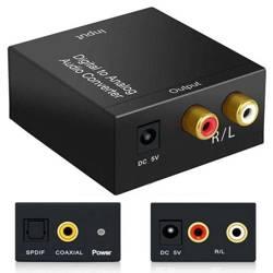 F101   Konwerter sygnału AUDIO - Coaxial / Toslin SPDIF - RCA