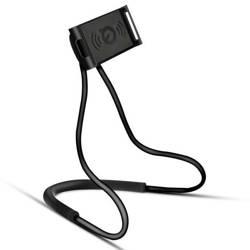 N005-Black | Uniwersalny stojak | uchwyt na szyję / kijek selfie do telefonu