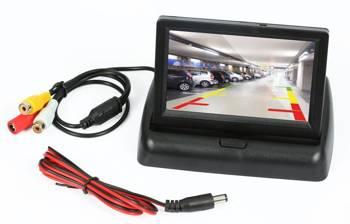 "PZ704 | Panoramiczny, składany monitor TFT LCD 4,3"""