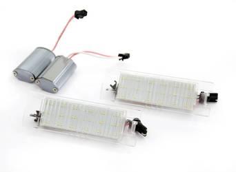 PZD0057 Podświetlenie tablicy rejestracyjnej LED Opel Insignia, Adam, Astra, Vectra, Corsa, Meriva, Vectra, Zafira, Tigra