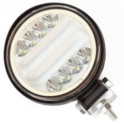 WL1045-126W Okrągła | JEDNOKOLOROWA | Lampa robocza 126W SINGLE LED