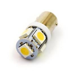 Żarówka samochodowa LED BA9S 5 SMD 5050