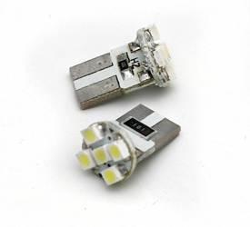 Żarówka samochodowa LED W5W T10 5 SMD 1210 CAN BUS