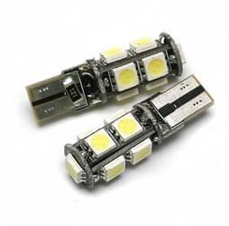 Żarówka samochodowa LED W5W T10 9 SMD 5050 CAN BUS