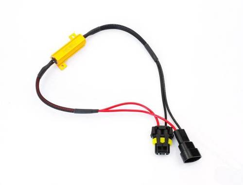 D-50W-8-HB4 | Filtr LED CAN BUS 50W 8Ω - oprawka HB4 9006