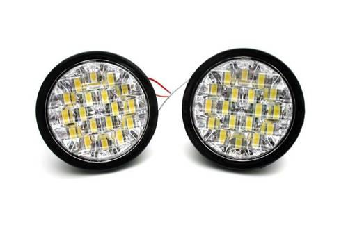 DRL 10 | Światła LED do jazdy dziennej | okrągłe ø 90 mm