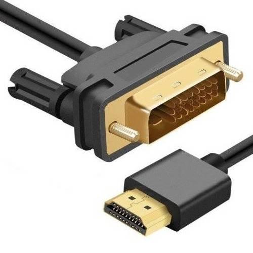 HD-2-2M-Black | Kabel HDMI - DVI | HDMI 2.0 | 4K | 3D