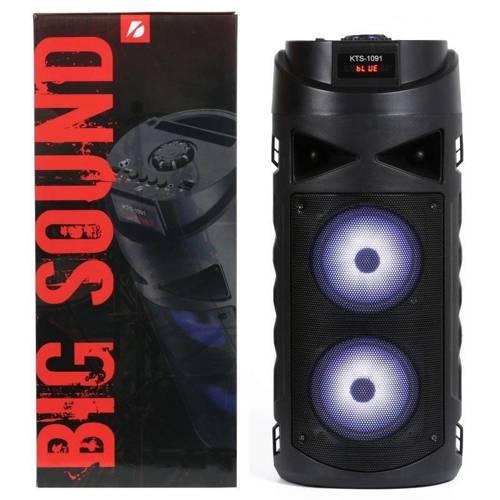 KTS-1091 | Przenośna kolumna | głośnik Bluetooth | wejście na mikrofon
