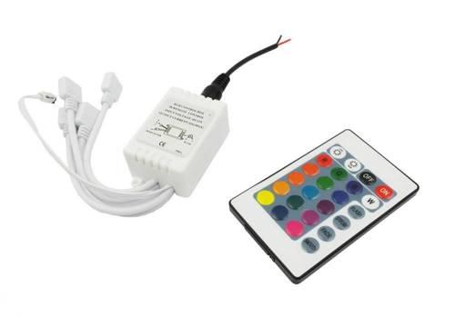 Sterownik z pilotem do Ringów LED SMD RGB
