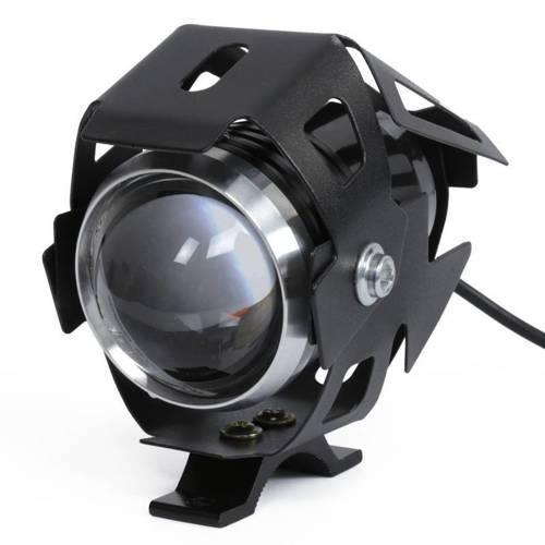 U5-Black | Halogen LED CREE do motocykla