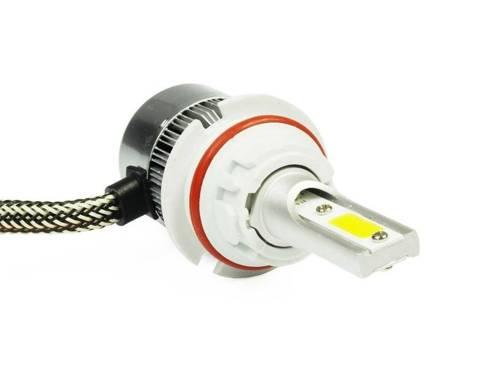 Żarówka LED HB5 H/L 9007 C6 COB BridgeLUX™ TrueWhite Technology 4000 lm - 1 sztuka - wersja motocyklowa