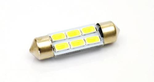 Żarówka samochodowa LED C5W 6 SMD 5630