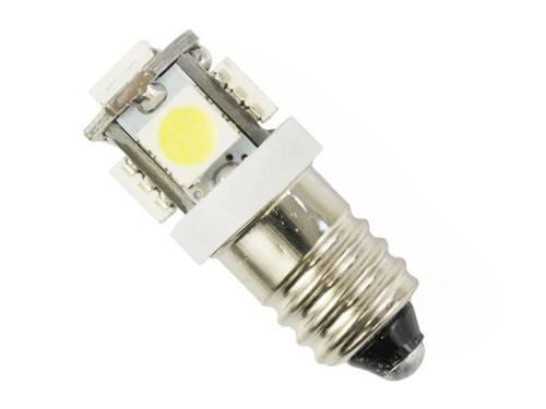 Żarówka samochodowa LED E10 5 SMD 5050 12V