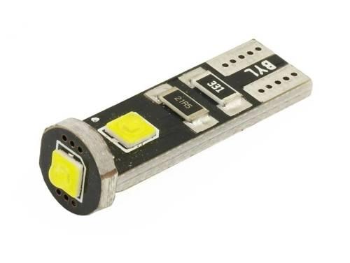 Żarówka samochodowa LED W5W T10 3 SMD CREE