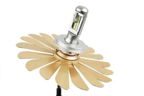 Zestaw LED H4 ZES Zdatt  | 100W 12000 lm | DZIEŃ/NOC