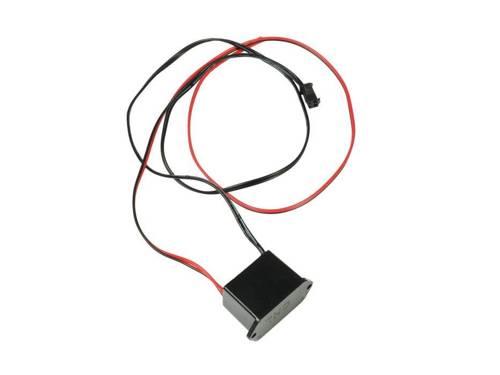 Zestaw - Światłowód Ambient Light EL Wire z inverterem 12V | 2 metry