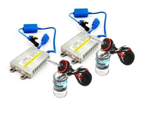 Zestaw XENON HID H9 H11 z przetwornicami SLIM AC 55W