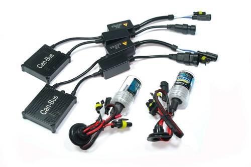 Zestaw oświetleniowy XENON HID H8 / H9 / H11 CAN BUS DUO